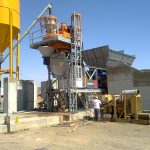 MOBISPA mobile concrete batching plants Ali Al Masaad Co KSA