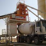 MOBISPA 100 mobile concrete batching plant KSA