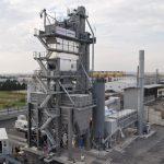 AMMANN CB350 asphalt plant in Thessaloniki-Greece