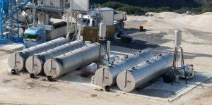 SPANOS Bitumen and PMB tanks for TERNA, Greece