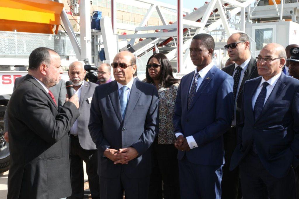President of Zambia at the MOBISPA 135
