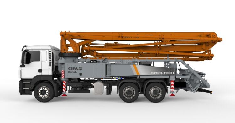CIFA K36L Steeltech